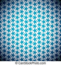 stella blu, fondo
