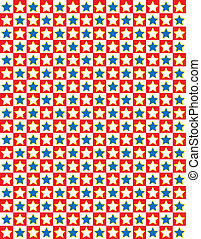 stella blu, vettore, eps8, bianco rosso