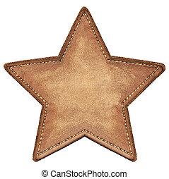 stella, etichetta