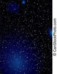 stella, papier peint, espace