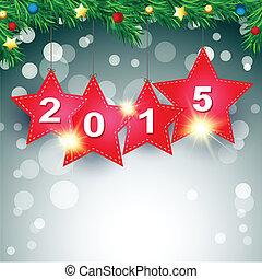 stella rossa, 2015, felice anno nuovo