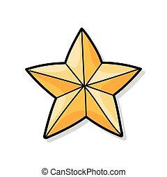 stella, scarabocchiare
