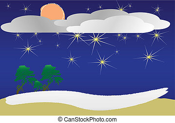 stellato, notte