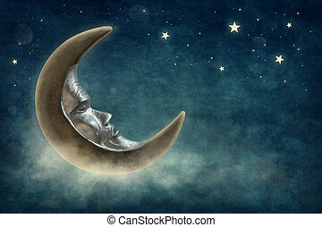 stelle, e, luna