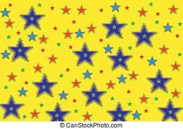 stelle, fondo