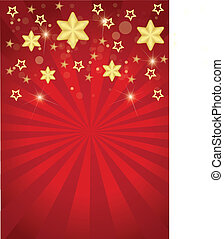 stelle strisce, con, natale