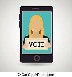 stemme, pc., stemme, valg
