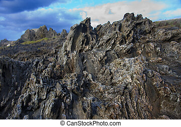 sten, ämne, struktur