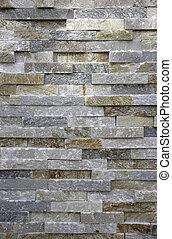 sten, eller, tegelsten, bakgrund, marmor