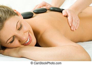sten, massage
