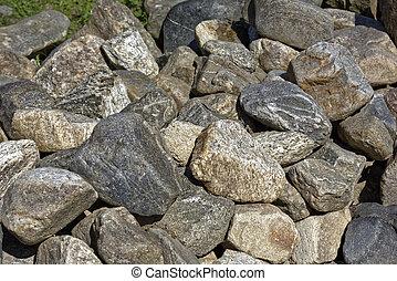 sten, stenblock, bakgrund