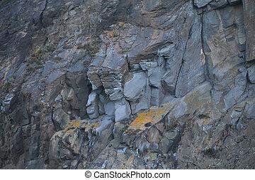 sten, svart, bakgrund