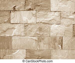 sten vägg