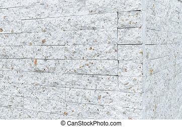 stena väggen, mönster, nymodig, återuppstå, vita tegelsten