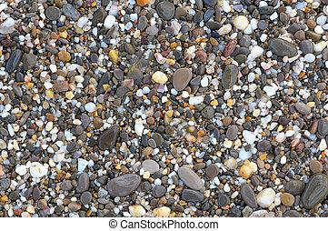 stenar, hav, bakgrund