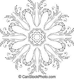 Stencil Mandala Design