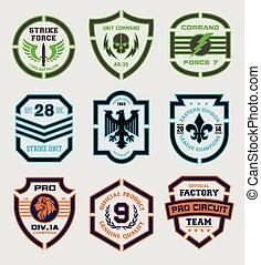 Stencil shield shapes