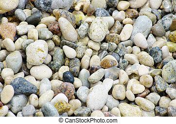 stenen, kiezelsteen