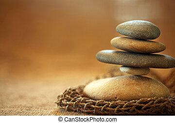 stenen, taste