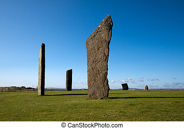 Stenness Stones, Orkney, Scotland - Stenness Standing...