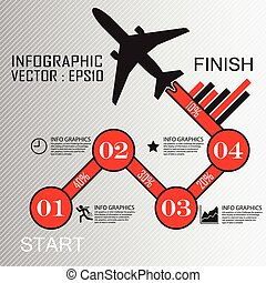 Step by Step infographics