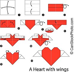 Step By Step Instructions How To Make Origami A Heart Pocket ... | 179x189