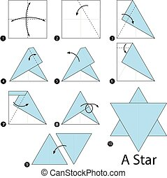 origami A Star.