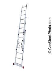 step-ladder, metal