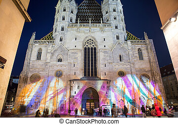 stephansdom, chiesa, in, vienna