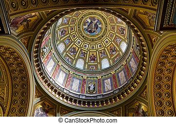 stephen, st., basílica, cúpula