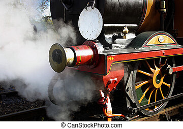 Stepney steaming at the Bluebell Railway Sheffield Park...