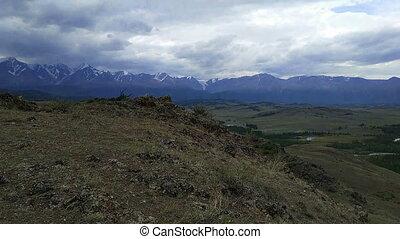 steppe, arête, kurai, north-chui