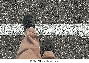 Stepping over the line