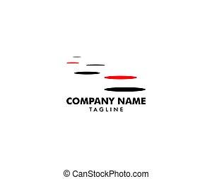 Stepping Stone Logo Template Design