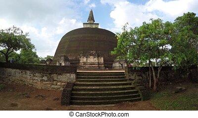 Steps Leading to the Rankoth Viharaya Stupa in Panadura -...