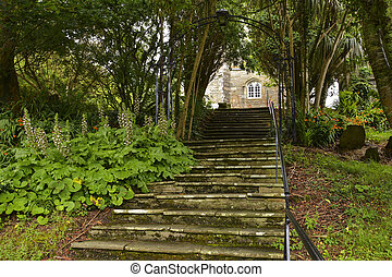 Steps Leading up to Church