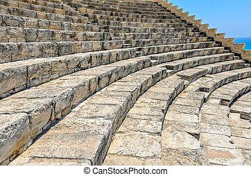 Steps of ancient amphitheatre