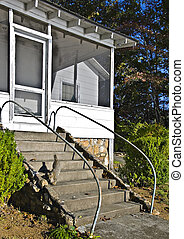 Steps to an Old Porch