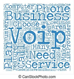 Steps to VoIP text background word cloud concept