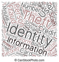 Steps You Can Take to Prevent Identity Theft text background...