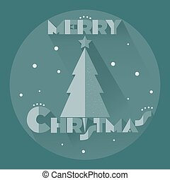 ster, boompje, kerstmis