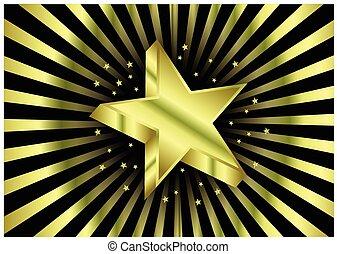 ster, goud
