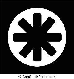 ster, pictogram