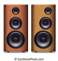 stereo högtalare