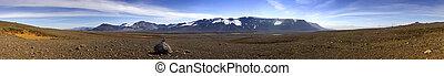 sterile, islandese, paesaggio