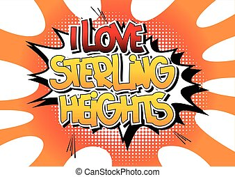 sterlina, amore, heights.