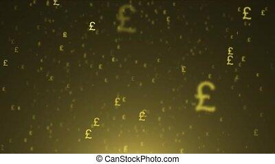 sterling, voler, livre, currency., fond