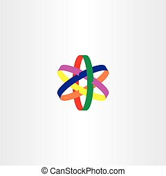stern, bunte, symbol, vektor, logo, ikone