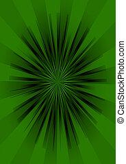 stern, illustration., bersten, abstrakt, hintergrund., retro, 3d