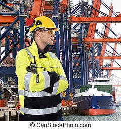 Stern looking Docker